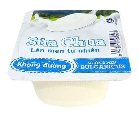 1 hộp sữa chua bao nhiêu calo