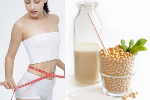 Uống sữa đậu nành có giảm cân được không?