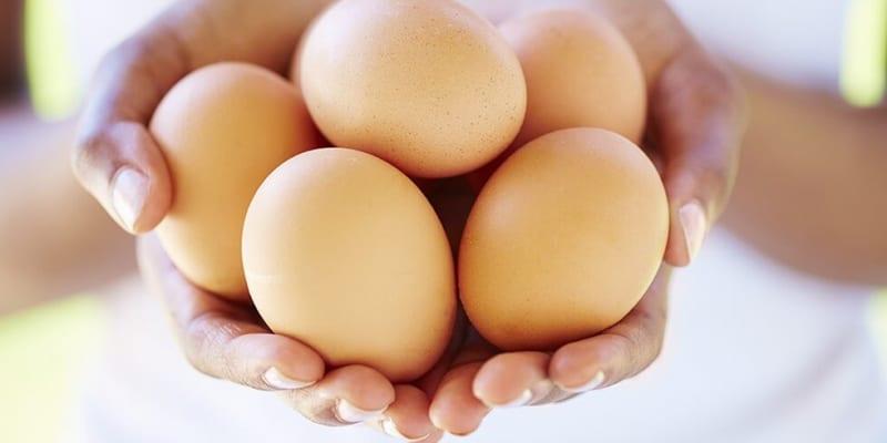 1 quả trứng nặng bao nhiêu gam