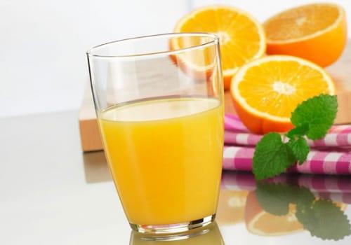 Uống nước cam mỗi ngày đẹp da không