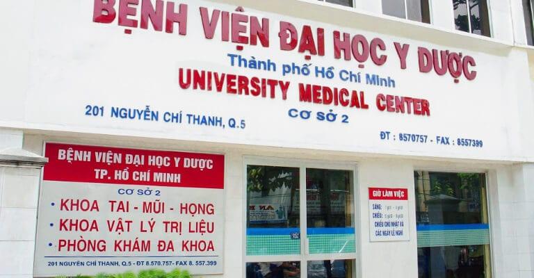 Chữa bệnh trĩ tại Bệnh Viện Đại Học Y Dược Thành Phố Hồ Chí Minh
