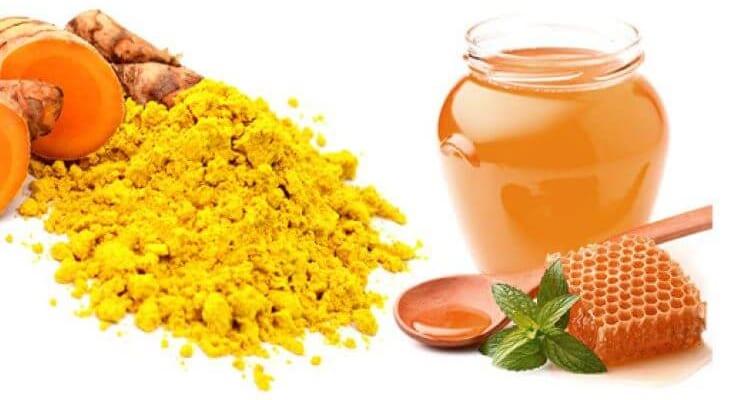 Chữa viêm đại tràng bằng nghệ và mật ong