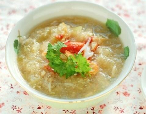 1 chén súp cua bao nhiêu calo