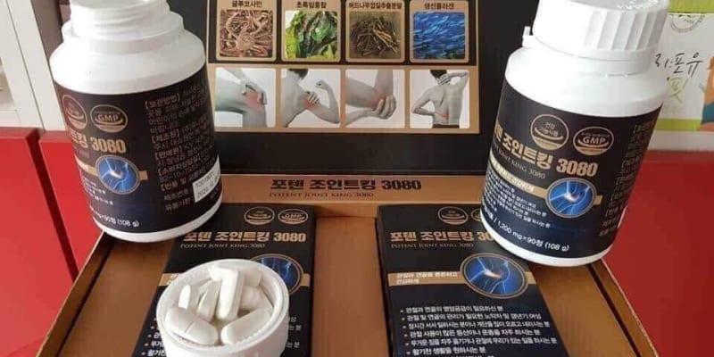 Cách sử dụng thuốc Poten Joint King 3080