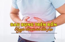 Đau bụng trên rốn là bệnh gì