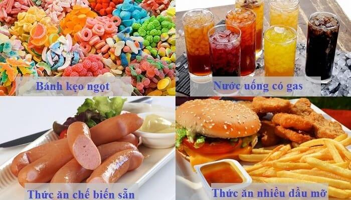 Người tiêu chảy không nên ăn gì?