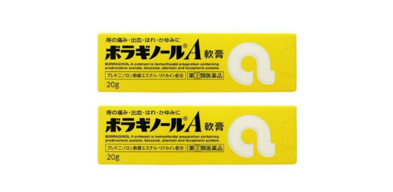 Thuốc trĩ chữ A Nhật Bản