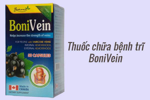 Thuốc trị bệnh trĩ Bonivein