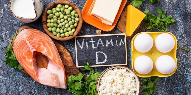 Thực phẩm chứa vitamin D và Canxi