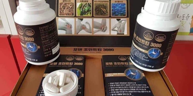 Thuốc hỗ trợ điều trị thoái hóa cột sống Poten Joint King 3080