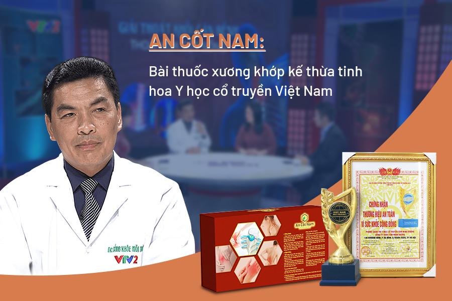 Phác đồ An Cốt Nam được Ths.Bs Hoàng Khánh Toàn giới thiệu