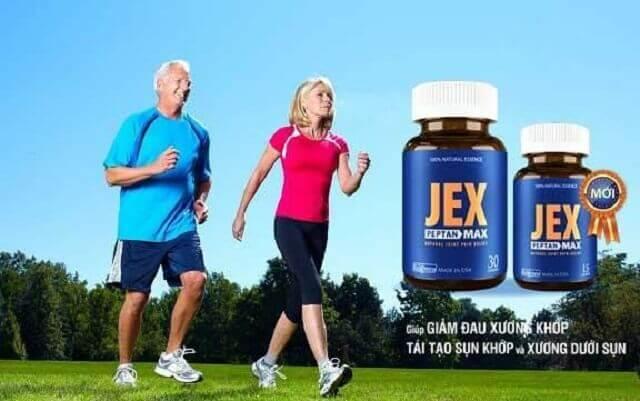 Thuốc Jex max chữa bệnh gì?