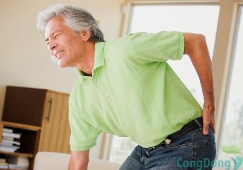 Đau lưng không cúi được là bị bệnh gì
