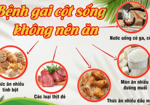 gai cột sống không nên ăn gì