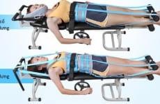 Các loại giường kéo giãn cột sống lưng cổ tốt nhất