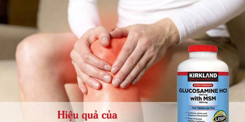 Thuốc bổ xương khớp của mỹ glucosamine hcl 1500mg