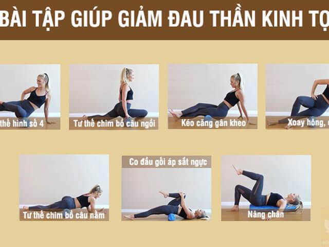 Các bài tập yoga chữa đau thần kinh tọa
