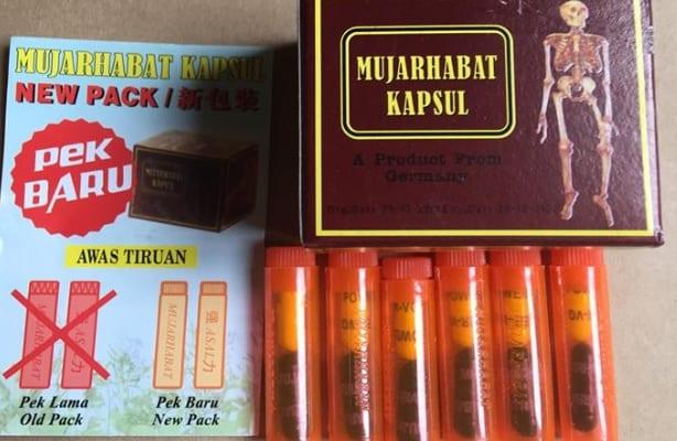 Thuốc xương khớp malaysia màu đỏ (Mujarhabat Kapsul)