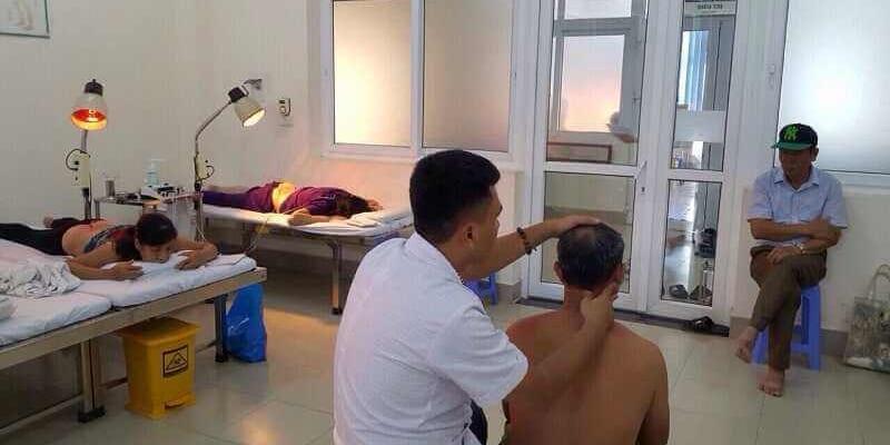 Địa chỉ bấm huyệt chữa đau lưng