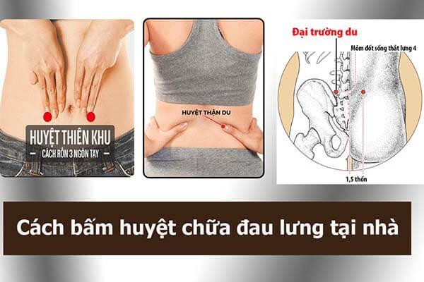 Xoa bóp bấm huyệt chữa đau lưng không?