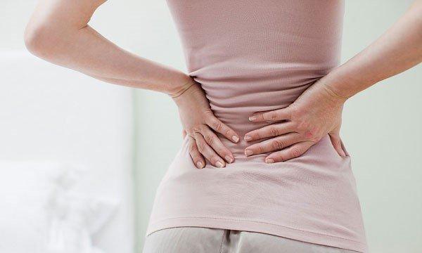 Cách giảm đau lưng và ra huyết trắng