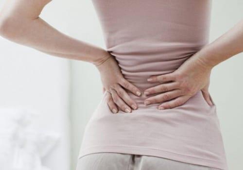 Bà bầu bị đau lưng khi mang thai