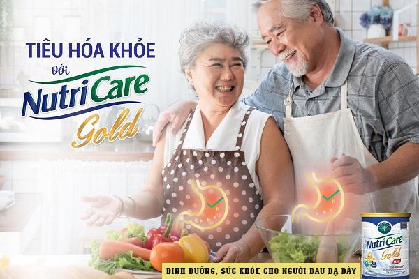 Nutricare Gold - Sữa dành cho người đau dạ dày