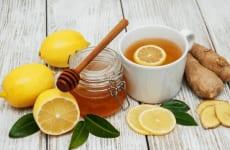 Cách trị ho khan từ chanh và mật ong