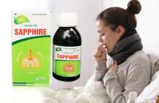 Thông tin cơ bản về thuốc ho Sapphire
